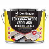 Den Braven DenBit REFLEX ALU fényvisszaverő védőlakk, ezüst, 4.5 kg
