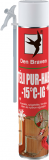 Den Braven Adapteres PUR-hab (téli), zöld, 750 ml