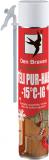 Den Braven Adapteres PUR-hab (téli), zöld, 500 ml