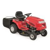 MTD 76 hátsó kiszórású fűnyíró traktor, textil fűgyűjtővel