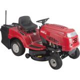 MTD 92 hátsó kiszórású fűnyíró traktor, textil fűgyűjtővel