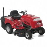 MTD SMART RE 130 H hátsó kiszórású fűnyíró traktor, textil fűgyűjtővel