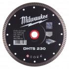 DHTS turbo gyémánt vágótárcsák