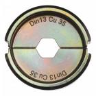 DIN13 Cu krimpelő betétek