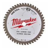 Milwaukee CSB P M körfűrészlap fémhez, 165/15.87/48
