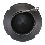 Milwaukee Kábeltartó dob + M12 buzogányfejű acélkábel, spirál, Ø6 mm, 7.6 m