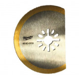 Milwaukee Süllyesztett fűrészlap titán bevonattal, 80 mm
