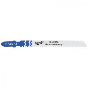 Hagyományos szúrófűrészlap, Bi-Met, T 101 A sp, 75 mm, 5db/csomag termék fő termékképe
