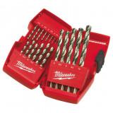 Milwaukee HSS-G DIN 338 Thunderweb fémfúró készlet, 19 részes
