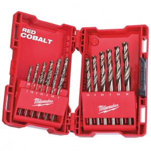RED COBALT HSS-G Co (kobalt) DIN 338 fémfúró készlet, 19 darabos termék fő termékképe