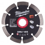 Milwaukee DSU gyémánt vágótárcsa, Ø125 mm
