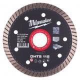Milwaukee DHTS gyémánt vágótárcsa, turbo, Ø115 mm