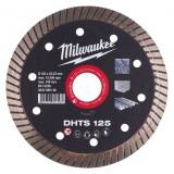 Milwaukee DHTS gyémánt vágótárcsa, turbo, Ø125 mm