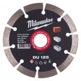 Milwaukee DU gyémánt vágótárcsa, Ø125 mm