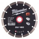 Milwaukee DU gyémánt vágótárcsa, Ø180 mm