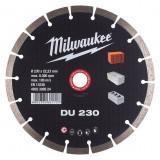 Milwaukee DU gyémánt vágótárcsa, Ø230 mm
