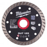 Milwaukee DUT gyémánt vágótárcsa, turbo, Ø125 mm