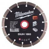 Milwaukee DUH gyémánt vágótárcsa, Ø180 mm