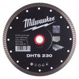 Milwaukee DHTS gyémánt vágótárcsa, turbo, Ø230 mm