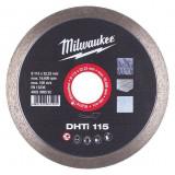 Milwaukee DHTI gyémánt vágótárcsa, turbo, Ø115 mm