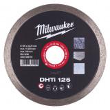 Milwaukee DHTI gyémánt vágótárcsa, turbo, Ø125 mm