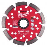 Milwaukee Speedcross AUDD gyémánt vágótárcsa, Ø125 mm