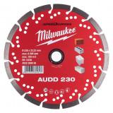 Milwaukee Speedcross AUDD gyémánt vágótárcsa, Ø230 mm