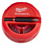 Milwaukee Shockwave Impact Duty™ bitkészlet, 15 darabos