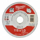 Milwaukee WSCS41 STANDARD fémvágó tárcsa, egyenes, 115x1.0 mm