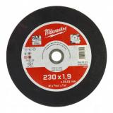 Milwaukee WSCS41 STANDARD fémvágó tárcsa, egyenes, 230x1.9 mm