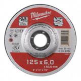 Milwaukee WSG27 STANDARD csiszolókorong fémhez, 125x6.0 mm