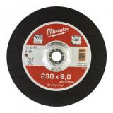 Milwaukee WSG27 STANDARD csiszolókorong fémhez, 230x6.0 mm