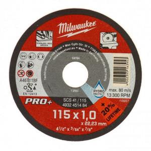 SCS 41/115 PRO+ vékony fémvágó tárcsa, egyenes, 115x1.0 mm termék fő termékképe