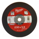 Milwaukee SC 41/230 PRO+ fémvágó tárcsa, egyenes, 230x3.0 mm
