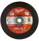 Milwaukee SG 27 / 230 PRO+ csiszolókorong fémhez, hajlított, 230x6.0 mm