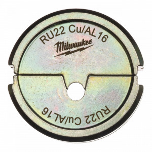 Milwaukee RU22 Cu/AL 16 krimpelő betét az M18 HCCT-hez termék fő termékképe