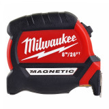 Milwaukee Mágneses mérőszalag, GEN III, 8 m  / 26 láb / 27 mm