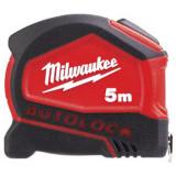 Milwaukee AUTOLOCK automata záras mérőszalag, 5 m  / 16 láb / 25 mm