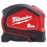Milwaukee AUTOLOCK automata záras mérőszalag, 8 m  / 26 láb / 25 mm
