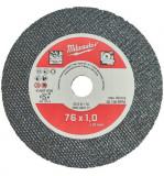 Milwaukee SCS 41/76 vékony fémvágó tárcsa, egyenes, 76x1.0 mm, 5db/csomag