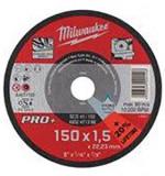 Milwaukee SCS 41/150 PRO+ vékony fémvágó tárcsa, egyenes, 150x1.5 mm