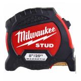 Milwaukee STUD™ mágneses mérőszalag, 8 m / 25 láb / 33 mm