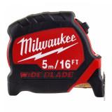 Milwaukee Széles prémium mérőszalag, 5 m  / 16 láb / 33 mm