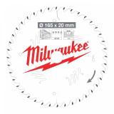 Milwaukee CSB P W körfűrészlap 165/20/40ATB