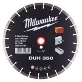 Milwaukee DUH gyémánt vágótárcsa, Ø350 mm