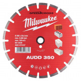 Milwaukee Speedcross AUDD gyémánt vágótárcsa, Ø350 mm