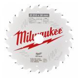 Milwaukee CSB TS W körfűrészlap 210/30/24ATB