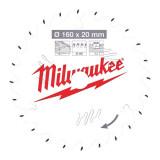 Milwaukee CSB P W körfűrészlap 160/20/24ATB