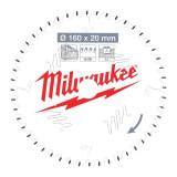 Milwaukee CSB P W körfűrészlap 160/20/48ATB