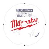 Milwaukee CSB P FC körfűrészlap 160/20/4D